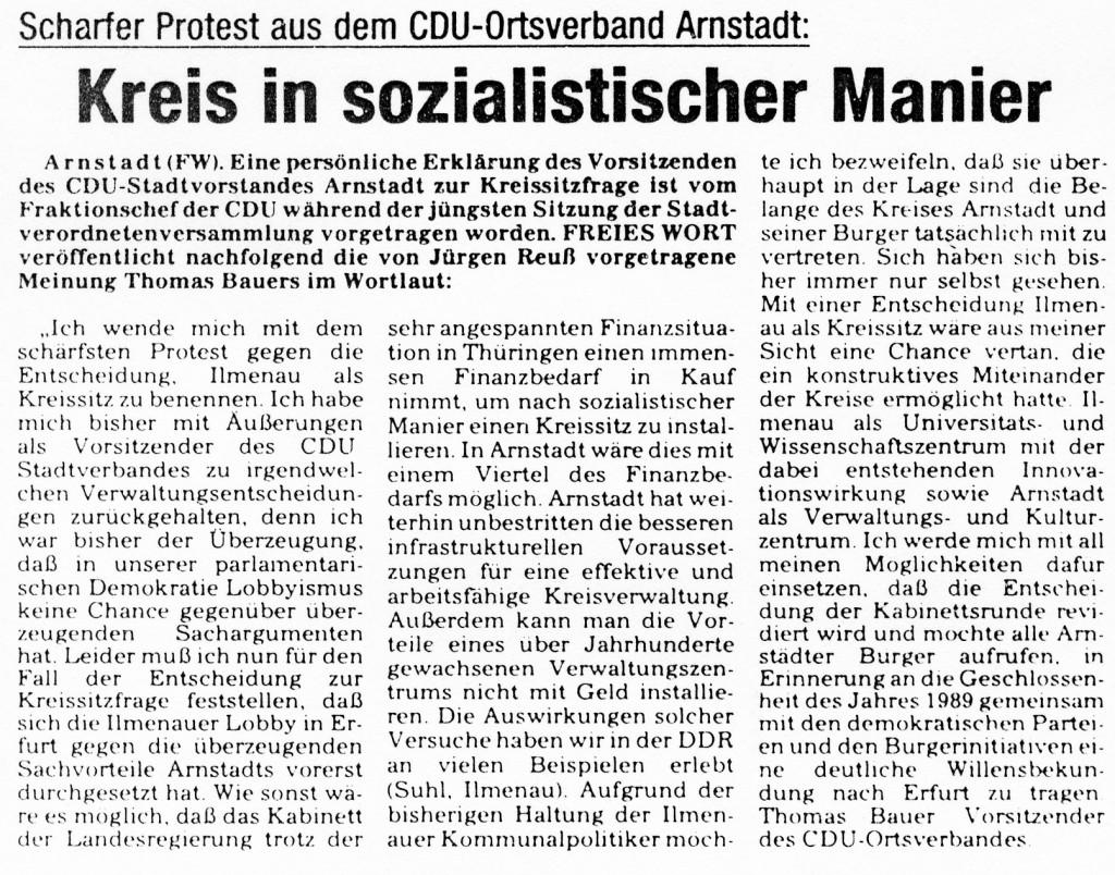 09-03-93 Kreis in sozialistischer Manier
