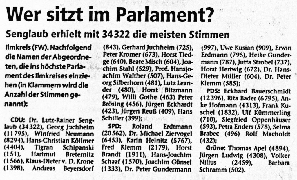 16-06-94 Wer sitzt im Parlament?