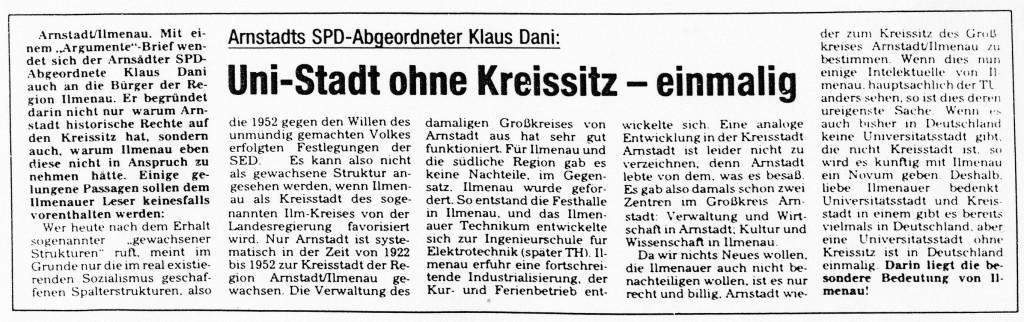 26-03-93 Uni-Stadt ohne Kreissitz - einmalig